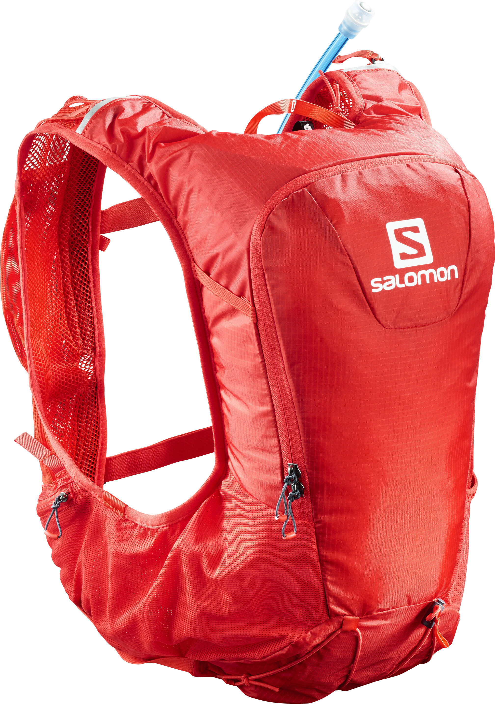 62a66947590 ▷ Salomon Skin Pro 10 Backpack Set fiery red online bei Bikester.at